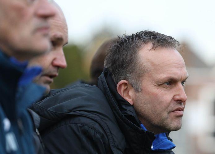 De Zeeuwse Halsteren-trainer Erwin de Nijs.