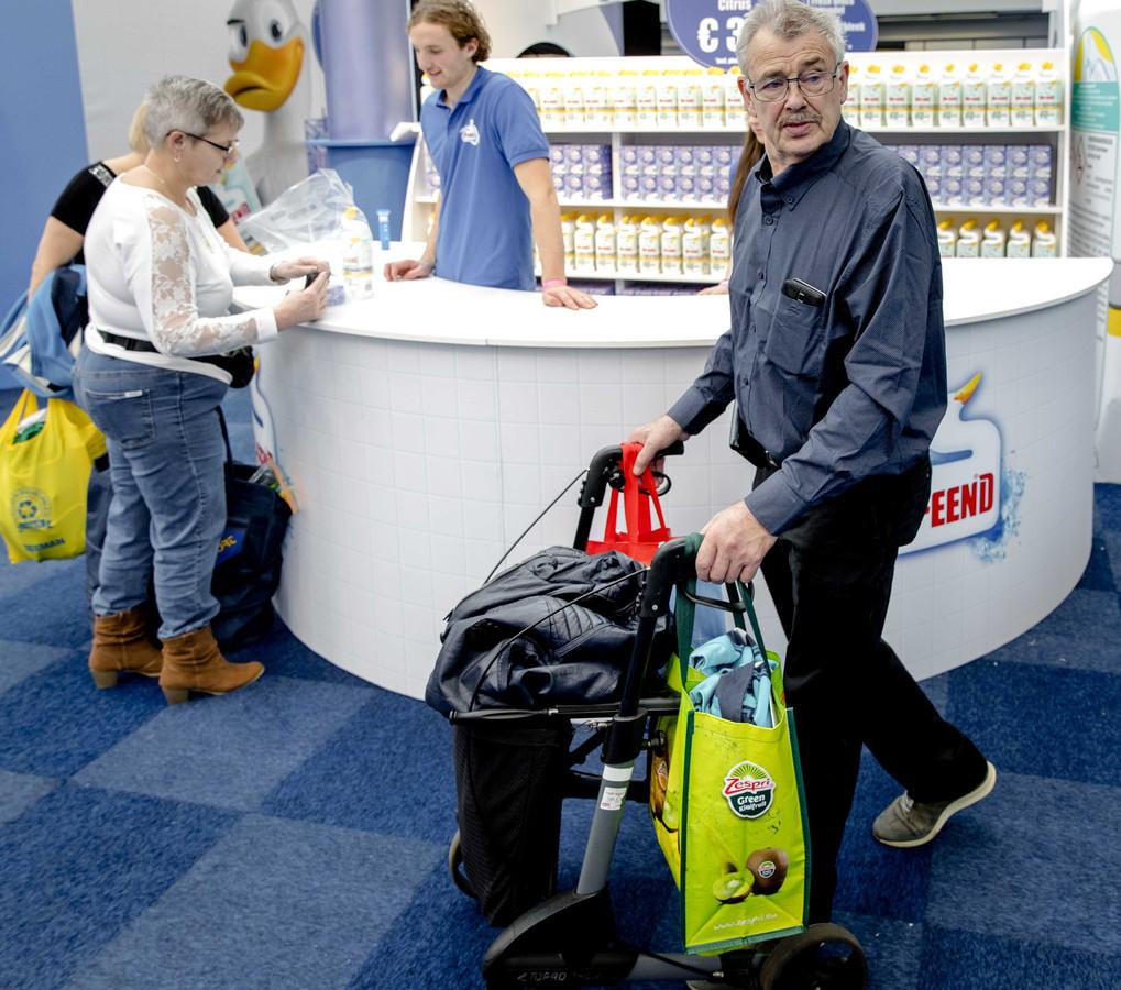 Bezoekers op de eerste dag van de Huishoudbeurs in de RAI Amsterdam. De beurs kampt met een teruglopend bezoekersaantal.
