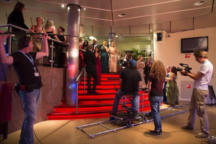 De filmopnames bij Theater de Lievekamp in Oss.
