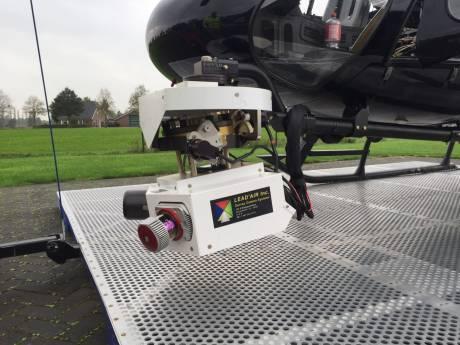 Waarom er lange tijd een helikopter boven Dordrecht vliegt
