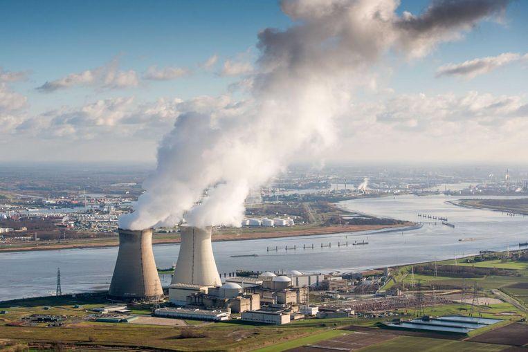 De kerncentrale van Doel.