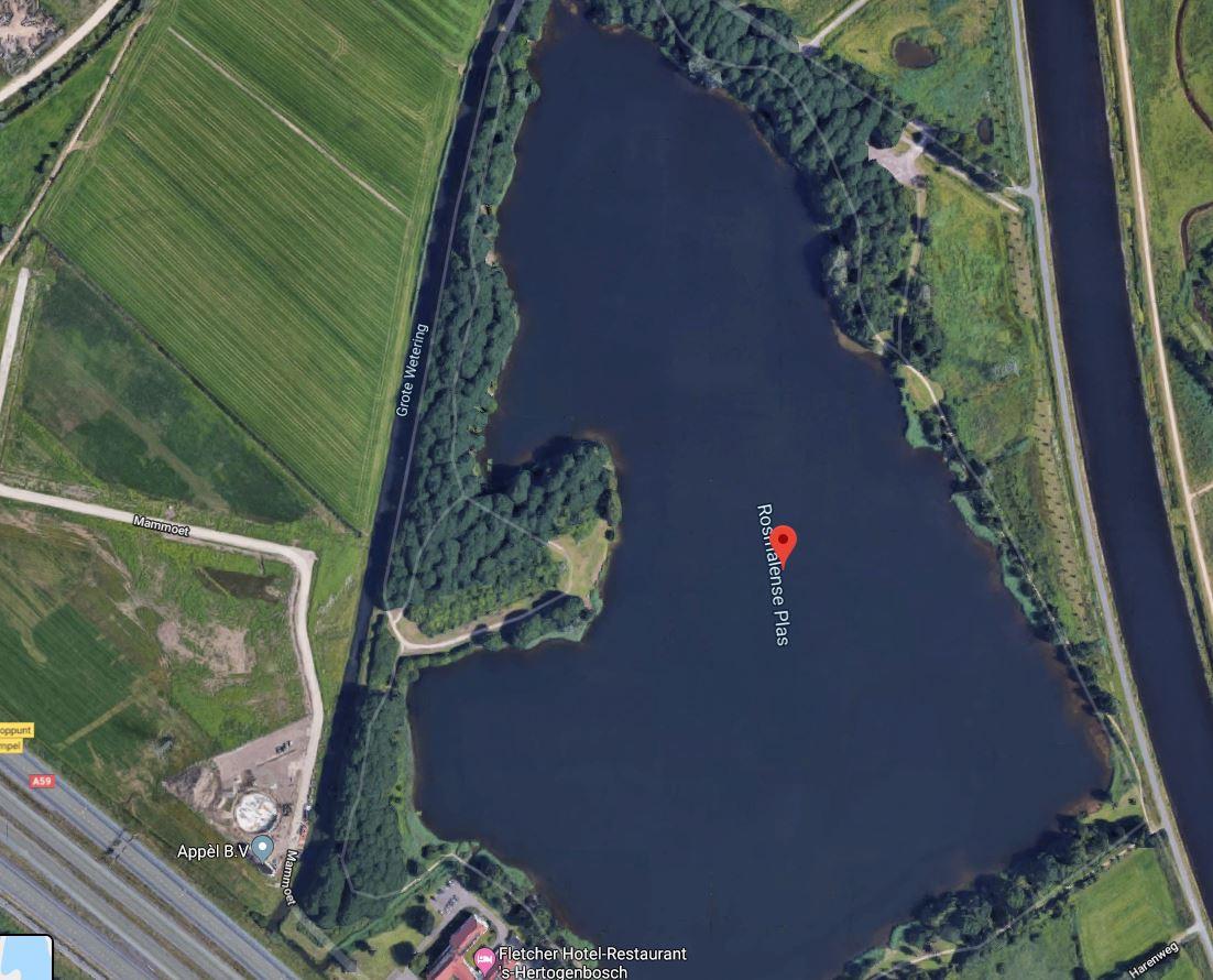 De Rosmalense Plas, Empels Gat tussen Empel en Rosmalen.