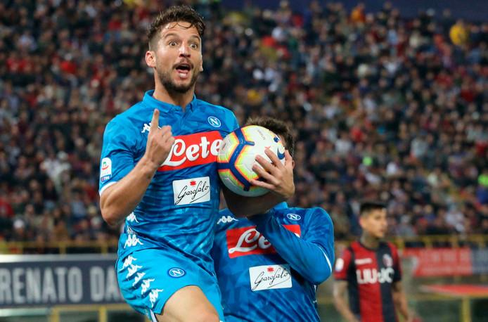 Dries Mertens veut effacer le record de Marek Hamsik, meilleur buteur de l'histoire du Napoli.