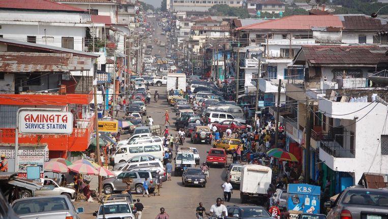 Ergens in downtown Monrovia opent in 2018 de nieuwe vestiging van studentenbioscoop Kriterion Beeld Kriterion