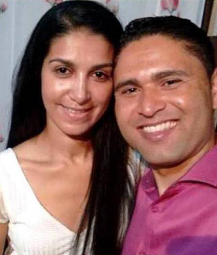 Rosemeire Silva Nascimento en haar geliefde Udirley Narques Damasceno.