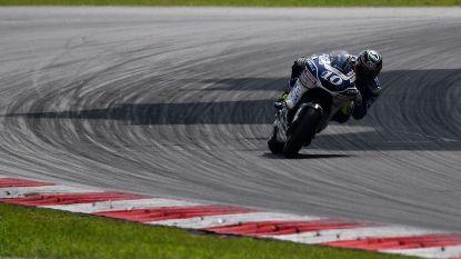 Belgische MotoGP-rijder Xavier Siméon rijdt twintigste tijd op laatste testdag in Sepang