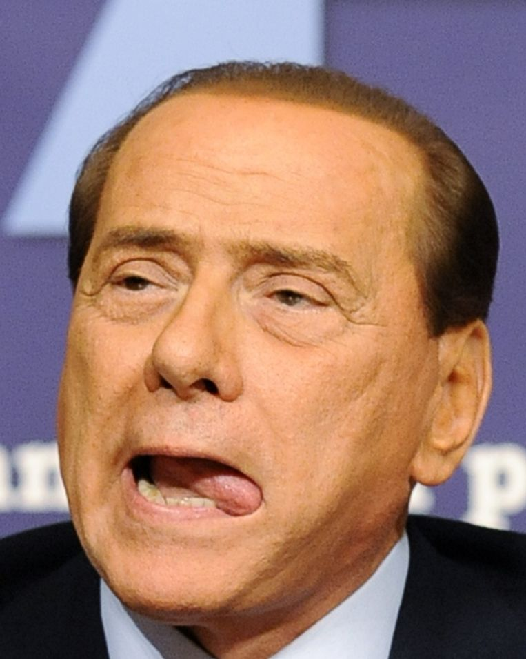 Premier Silvio Berlusconi. Beeld AFP