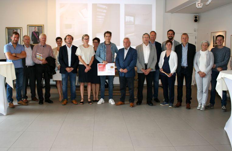 Uitreiking architectuurprijs 2018 in Laarne.