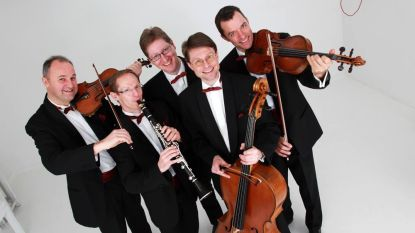 Muziekgezelschap Grupetto speelt 'Rhapsody in Blue'