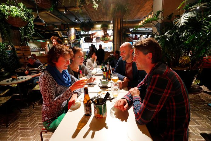 Down Town Gourmet Market in Eindhoven.