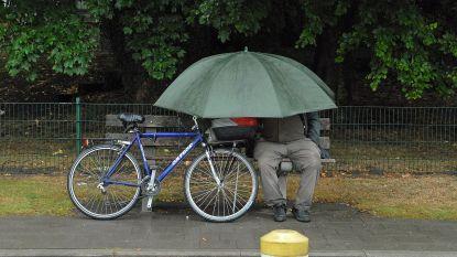 Hele week regenbuien en temperaturen die schommelen rond 10 graden