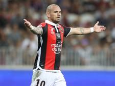 Sneijder debuteert met zege voor Nice