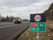 Vrachtwagen met pech zorgt voor file op A58 bij Oirschot