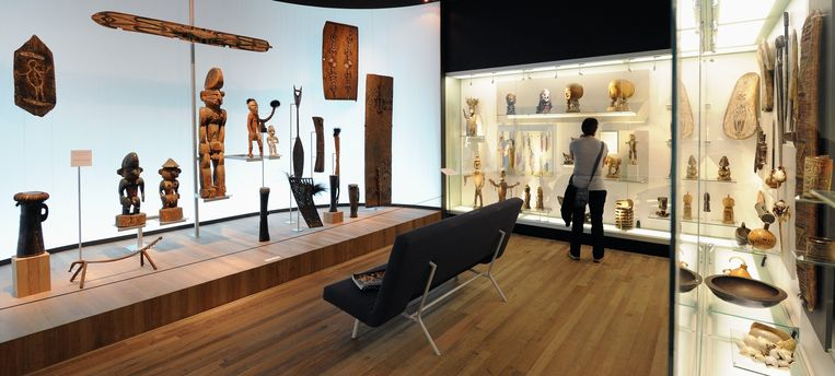 Wereldmuseum Rotterdam Beeld Lex van Lieshout  ANP