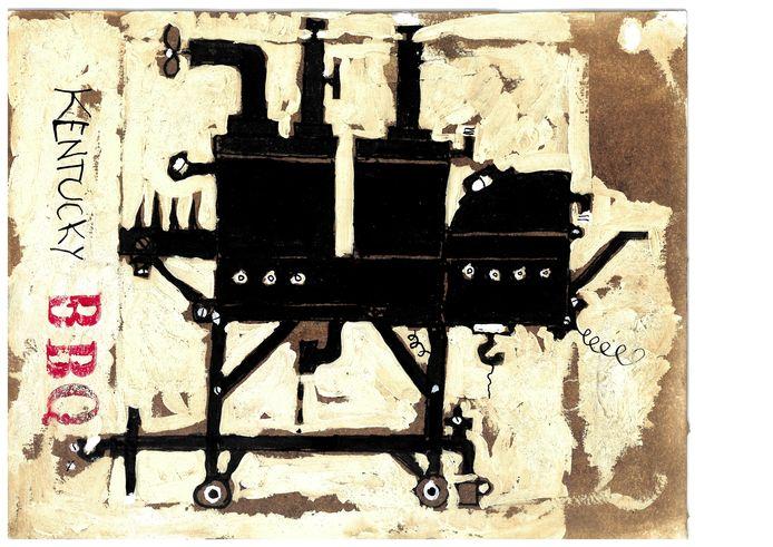 Wim Hofman illustratie bij Uit de Zeeuwse Almanak