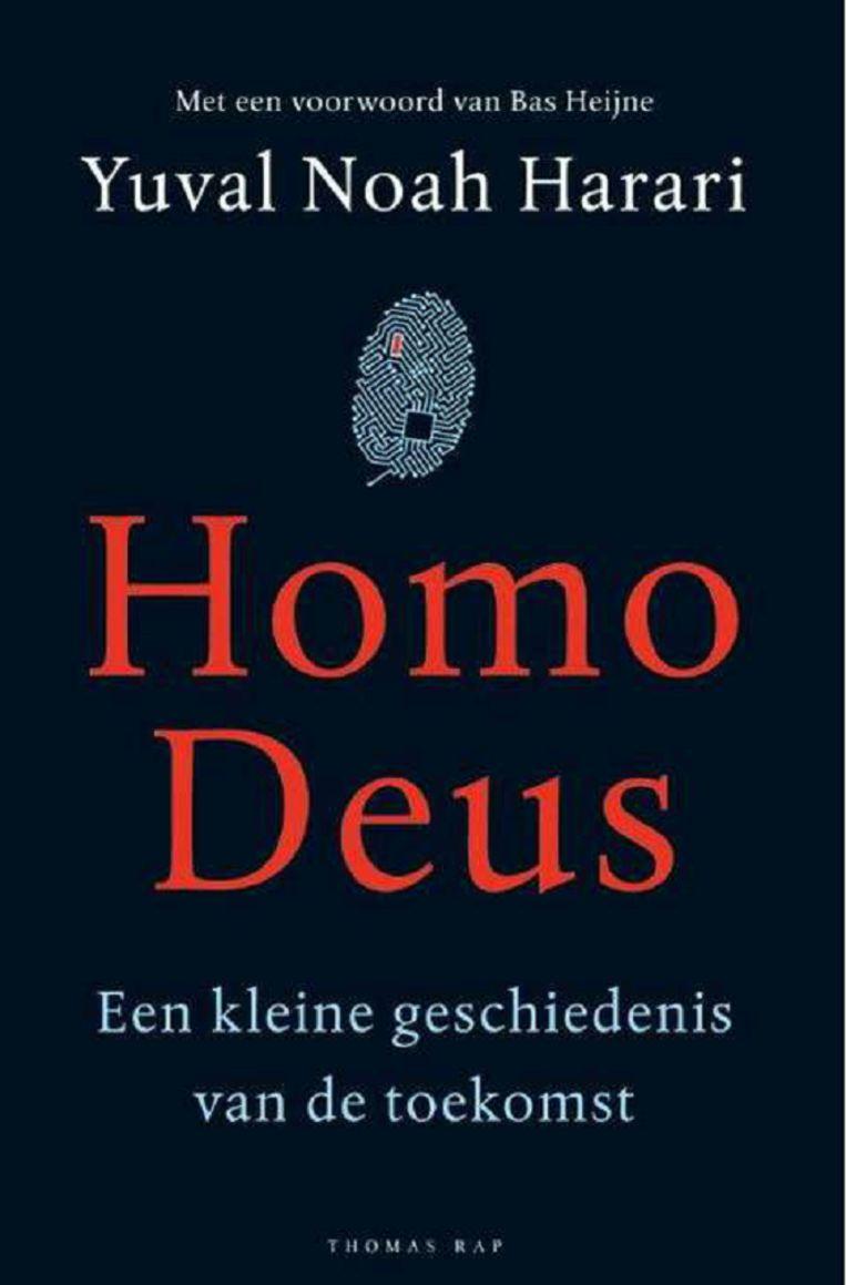 Yuval Noah Harari - Homo Deus Beeld Trouw