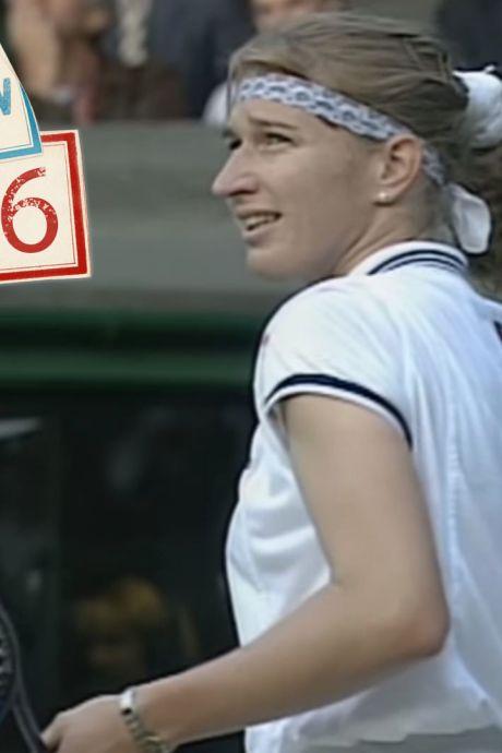 Hoe Steffi Graf een lolbroek in het publiek van repliek diende