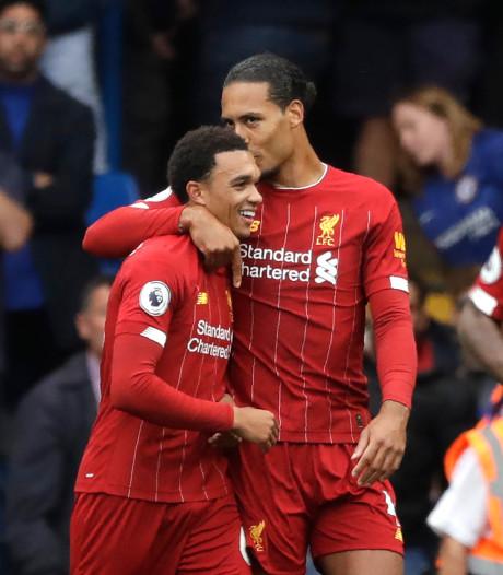 Liverpool met hangen en wurgen langs Chelsea, tiental Arsenal wint