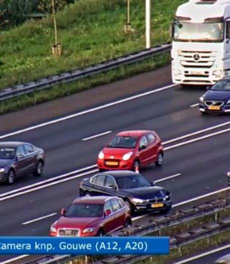 Ongelukken op A12 niet door snelheid