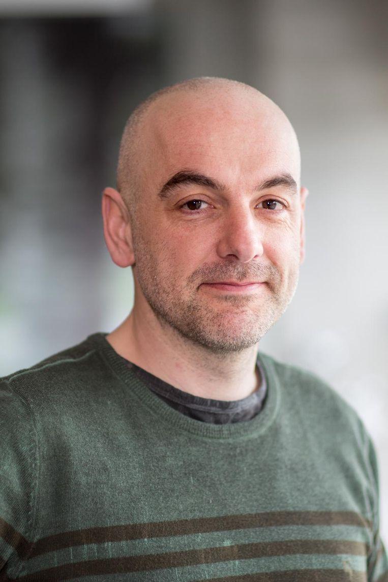 Filosoof Krist Vaesen:'We kijken ook naar een onderverdeling in dure en minder dure disciplines.' Beeld TU Eindhoven