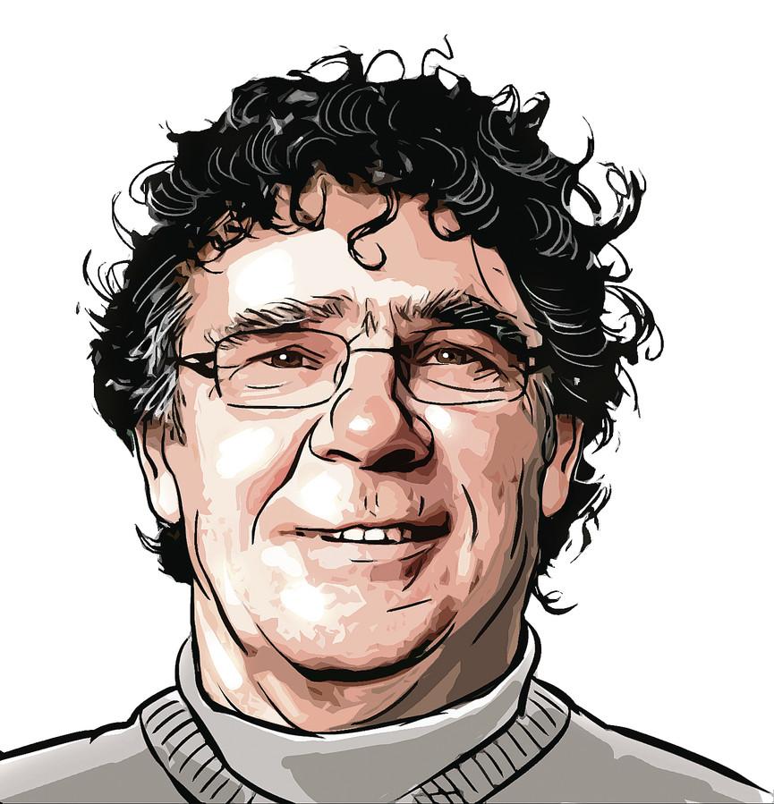 Vaste AD-columnist Willem van Hanegem