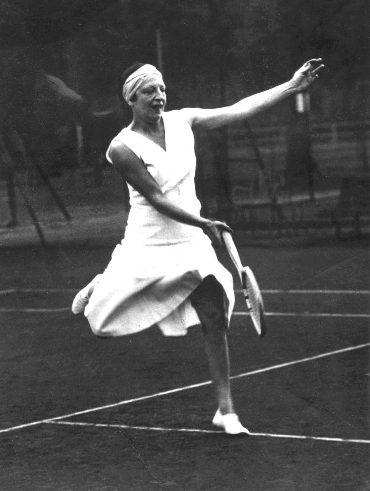 Suzanne Lenglen.