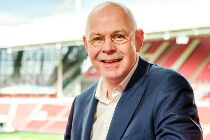 Toon Gerbrands, sinds juli 2014 algemeen directeur voetbalvereniging PSV. Op de foto in het Philips Stadion. Eindhoven, 4 maart 2019. Beeld: Marlies Wessels