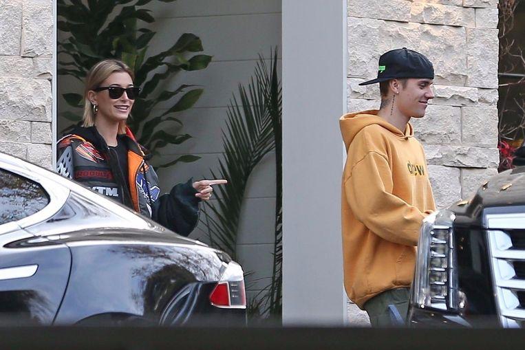 Hailey Baldwin en Justin Bieber