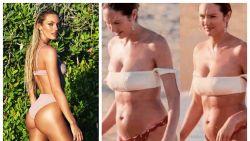 Topmodel Candice Swanepoel zet bodyshamers op geniale wijze op hun plaats