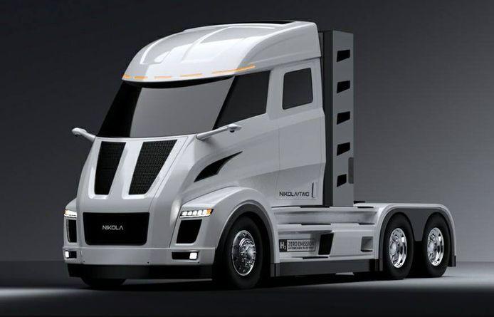 Nikola Motor Company ontwikkelt onder meer elektrische vrachtwagens.