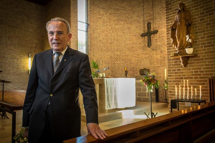 Wijlen pastor Herman Heuven.
