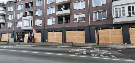 Winkelpanden dichtgetimmerd in Breda en Bergen op Zoom, uit angst voor rellen