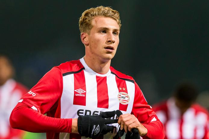 Matthias Verreth (20) is een van de spelers die nu de kar moet trekken bij Jong PSV.