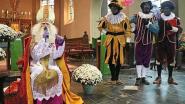 Sint-Maarten komt en kinderen houden lampionnentocht in Massemen