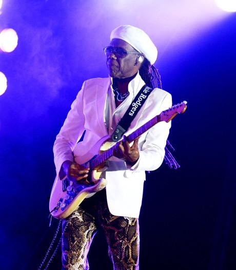 Nile Rodgers en Racoon spelen in paleistuin Soestdijk