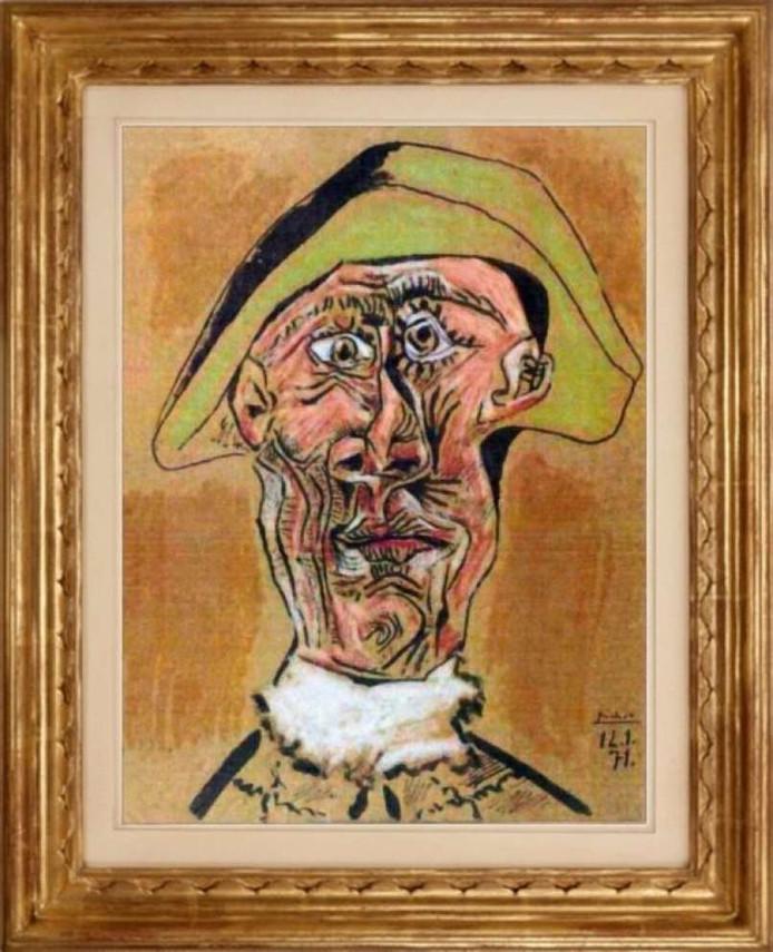 Tête d'Arlequin Picasso
