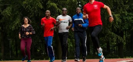 Namibische paralympiërs trainen in Enschede voor Olympische Spelen in Tokyo