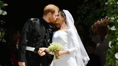 VIDEO. Herbeleef de mooiste momenten uit de huwelijksdag van Meghan en Harry