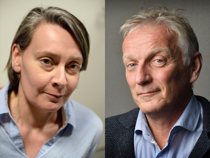 Lilian ten Donkelaar en Rob Wissink.