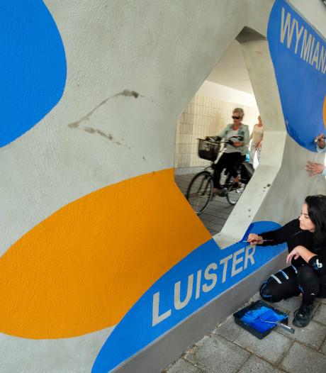 Nieuwe herdenken van Slag om Arnhem  gloort in fietserstunnel Airborneplein