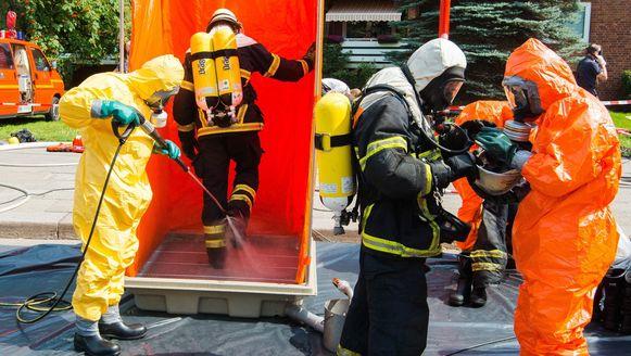 Dinsdag was er een krachtige explosie in een andere bunker in de stad waar etherische olie lag opgeslagen.