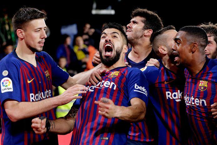 FC Barcelona speelde vorig seizoen met 4-4 gelijk bij Villarreal.