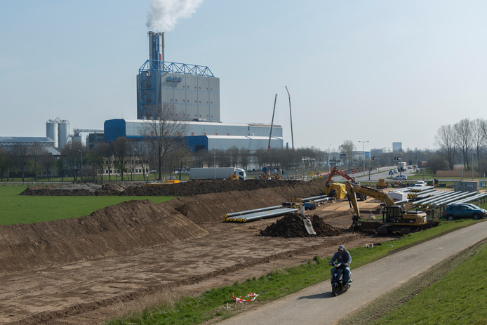 Project stadswarmte Arnhem, AVR Duiven.