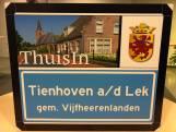 Nu is het officieel: Tienhoven verandert in Tienhoven aan de Lek