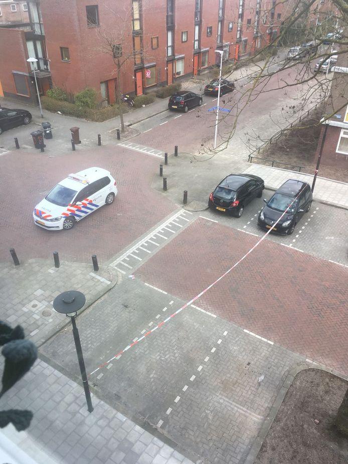 Een deel van de IJsselsteinlaan is ontruimd.
