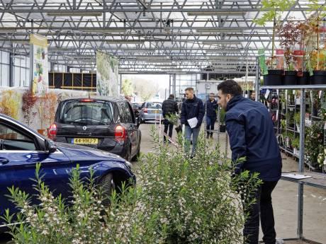 McDrive, maar dan voor planten bij De Carlton