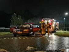 Gestolen auto in brand gezet met aanmaakblokjes in Babberich