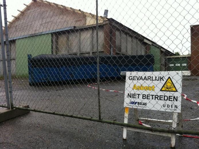 De voormalige gemeentewerf in Bruchem. foto Tim Durlinger/BD