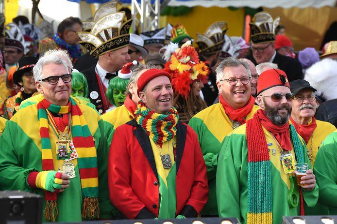 De 11devande11de werd georganiseerd door carnavalsvereniging De Huibuuke uit Overloon.