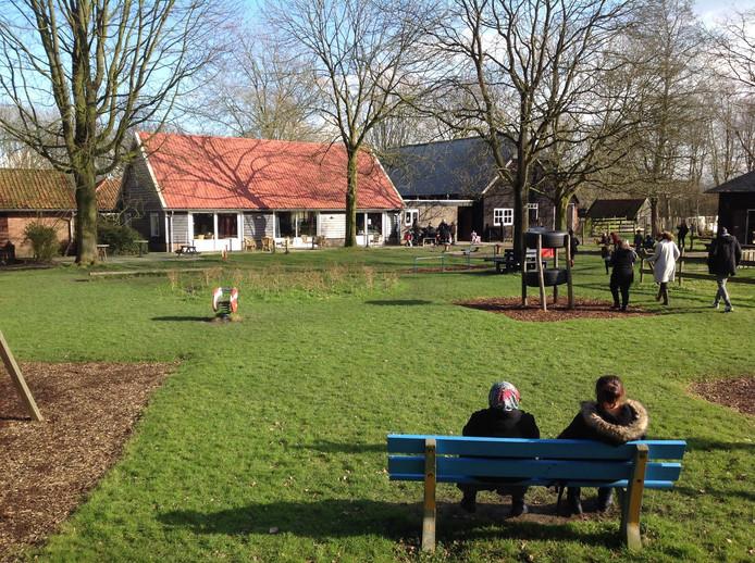 De kinderboerderij van Tragel in Terneuzen.